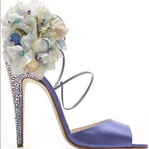 Aurora Limited Edition hydrangea sandal